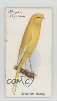 1933 Player's Aviary and Cage Birds Tobacco Base #12 Lancashire Canary Card 2h8