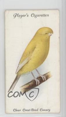 1933 Player's Aviary and Cage Birds Tobacco Base #3 Clear Crest-Bred Canary 2u1