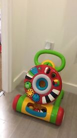 Early learning centre light and sound baby walker