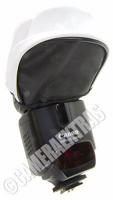 Universal Professional White Pouch Soft Flash Bounce Diffuser Canon Speedlight