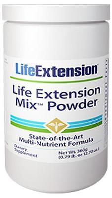 Life Extension Mix Powder Formula 30 Day Supply Multivita...