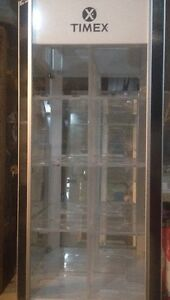 TIMEX DISPLAY CABINET