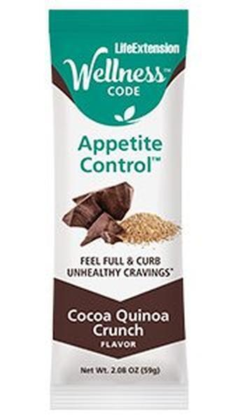 new wellness code appetite control bars weight