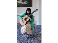 Classical Guitar Tuition