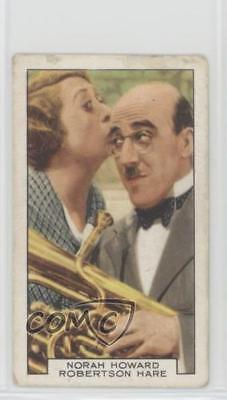 1935 Gallaher Film Partners Tobacco Base 12 Norah Howard Robertson Hare Card 1I3