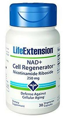 2 Bottles New 250Mg Life Extension Nad  Cell Regenerator Nicotinamide Riboside