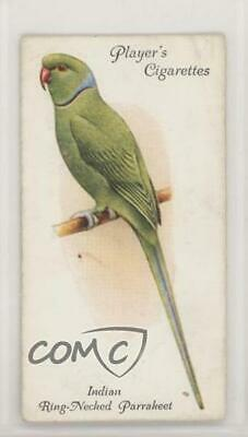 1933 Player's Aviary and Cage Birds #25 Indian Ring-Necked Parrakeet Card 2k3