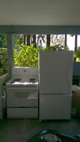 Refrigerator and Stove