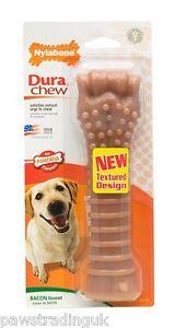 Bacon nylabone nyler bone souper super size tough dog for Super tuff dog toys