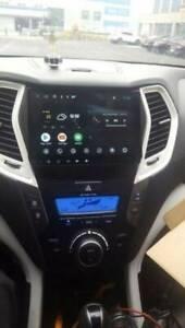 8 inch Hyundai Santa Fe******2017 car dvd gps free reverse camera