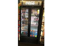 COCA COLA REDBULL MONSTER DRINKS BEER SHOP FRIDGES WALLS ICE CREAM FREEZER