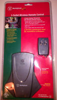 WESTINGHOUSE 3-OUTLET WIRELESS REMOTE CONTROL