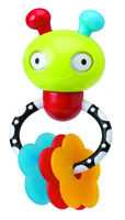 Alex Jr. Mix 'N Max Busy Bug Rattle Teether Baby Toy