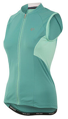 Pearl Izumi Women s Elite Escape Sleeveless Bike Jersey Viridian Green 2XL be7e80b53