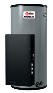 Commercial Rheem 85 gallon hot water heater Electric