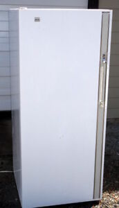 GE Upright Fridge - Very Good Condition, Clean, cold