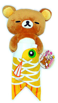 San-X Rilakkuma Relax Bear Plush Doll Toy Koi no hori Sleeping Cute Teddy 12""