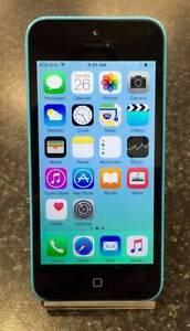APPLE IPHONE 5C - 8GB UNLOCKED BLUE Lawnton Pine Rivers Area Preview