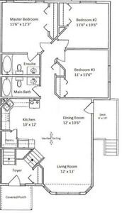3 BED/2 BATH IN LANCASTER Available May 1st