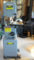 """Like New Condition Industrial Model 14"""" Band saw and Table saw"""