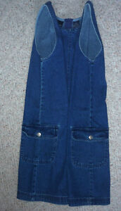 "youth Denim Dress : As shown : Clean,SmokeFree..30""Long Cambridge Kitchener Area image 1"