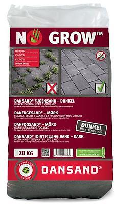 Fugensand NO GROW Dansand 1-5 mm 20 kg anthrazit