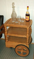 Man Cave Bar Cart