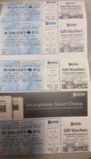 Midnight Oil Hope Estate 21 Oct B Reserve $100 each  Reduced