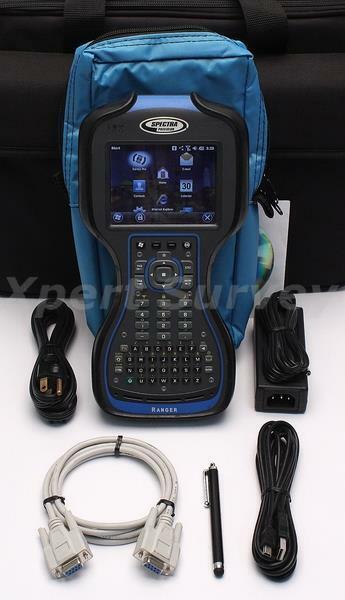 Spectra Precision Ranger 3 Field Controller Data Collector w/ Survey Pro V6.5