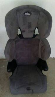 mothers choice imperial booster seat grey suede baby older child Goodna Ipswich City Preview