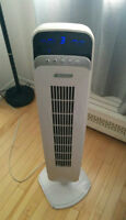 Garrison Tower Fan with Remote Control