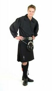 BLACK GUARD KILT OUTFIT