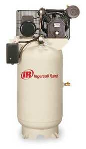 INGERSOLL-RAND 2475N7.5 Electric Air Compressor,2 Stage,24 cfm, 230V, 1-Phase