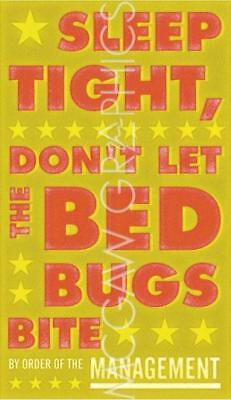 Sleep Tight Don't Let the Bedbugs Bite (green and orange) John W Golden Art - Orange And Green Tights