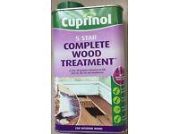 Job lot of Cuprinol wood treatment