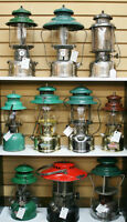 COLEMAN LANTERNS,STOVES, AND LAMPS
