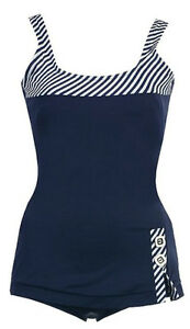 Brand New, 1 PC Retro Swimsuit, Size 4-6 / Small