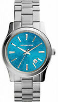 New With Tags Michael Kors Turquoise Blue Watch MK5914