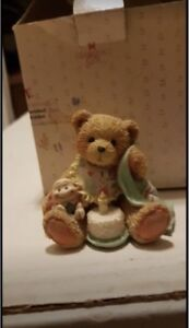 Assortment of Cherished Teddies collectibles