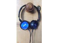Blue Soney headphones