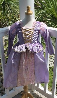Rapunzel Costume Teenager (Rapunzel Princess Costume dress - Tangled - Girls New Size Small 1-3)