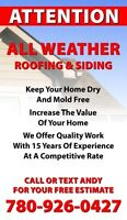 All Weather Roofing and Siding