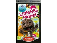Little big planet PSP game comes in box with booklet