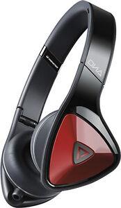 Monster - DNA On-Ear Headphones - Black/Red - NEW in box