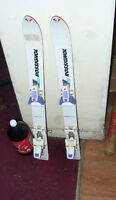 pear of small kids ski's about 2 feet long rossignol brand