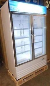 GLASS DOOR FREEZER - GLASS DOOR COOLER - BRAND NEW WITH WARRANTY!!!