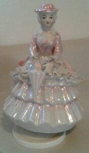 Southern Belle Figurine Music Box