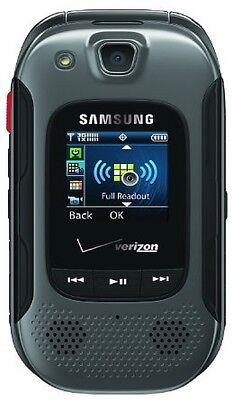Samsung Convoy 3 U680 Gray(Verizon) or Prepaid(Page Plus) Rugged Cell Flip Phone