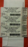 BILLETS ONE DIRECTION 5 SEPT