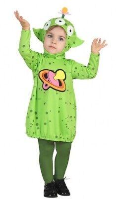 Baby Jungen Mädchen Grün Raum Alien Halloween Karneval Kostüm Kleid - Mädchen Alien Kostüm Halloween